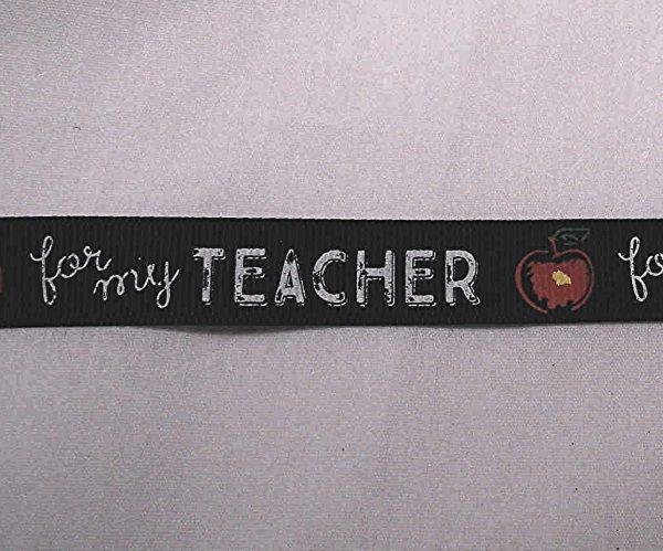 Teacher ribbon