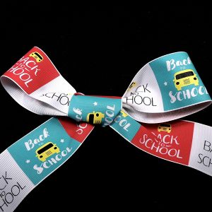 back to school ribbon