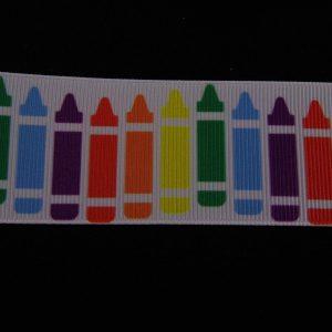crayon ribbon