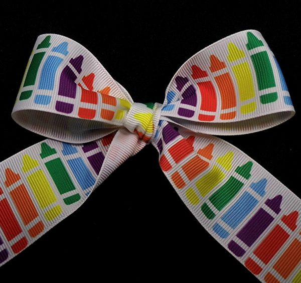 crayon ribbon