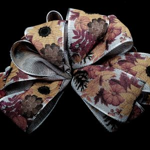 wired autumn ribbon