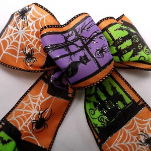 wired halloween party ribbon