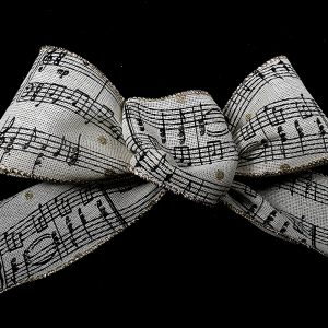 musical note ribbon
