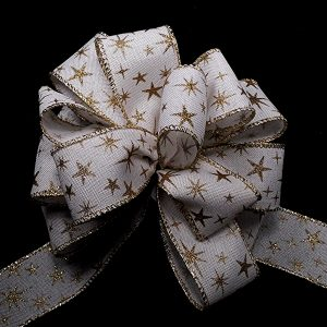 christmas stars ribbon
