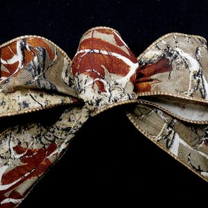 woods pattern ribbon