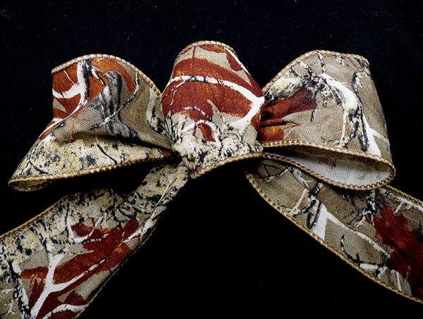 woods pattern ribbon