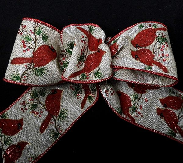 wired cardinals ribbon