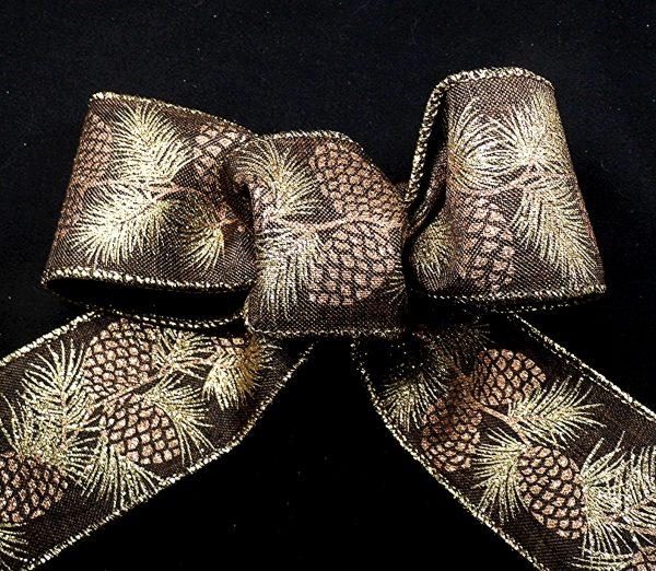pinecones ribbon
