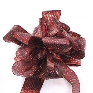 metallic sheen ribbon