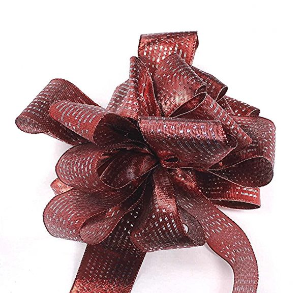 metallic sheen ribbon