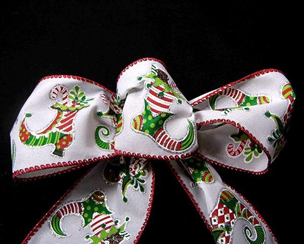 wired stocking ribbon