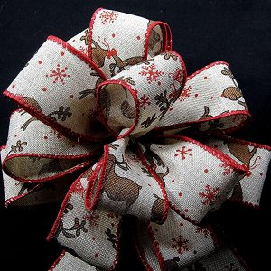 reindeer ribbon