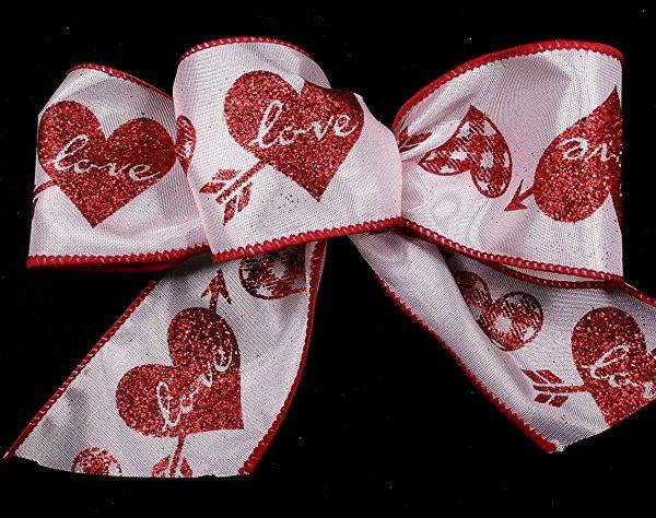 Printed Love ribbon
