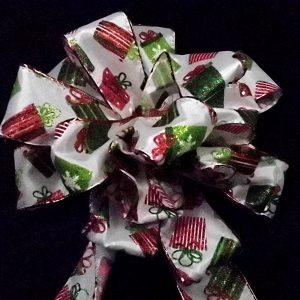 christmas presents ribbon