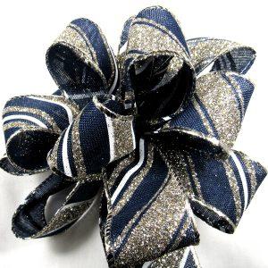 winter stripes ribbon