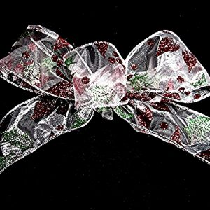 wired sheer ribbon