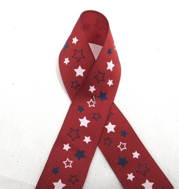 grosgrain star ribbon