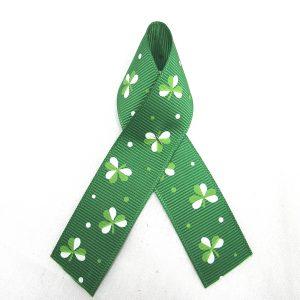 grosgrain clover ribbon