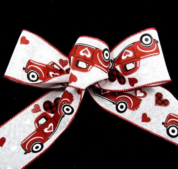 valentine's Truck Ribbon