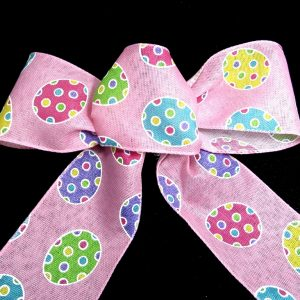 Wired Easter eggs ribbon