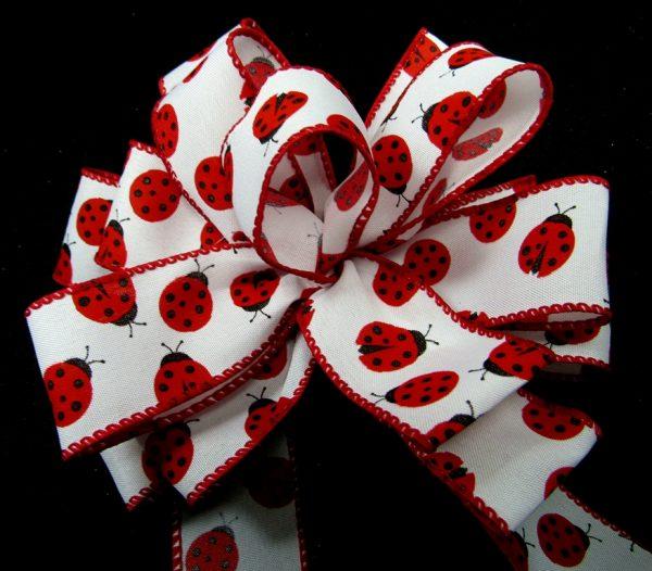 wired ladybug ribbon