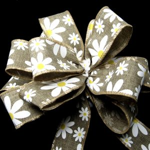 wired daisey ribbon
