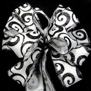 swirled ribbon