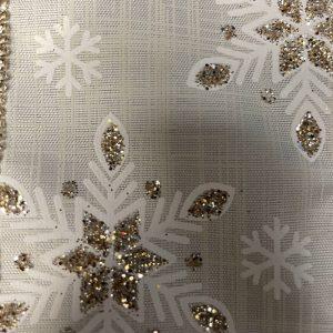 snow crystal ribbon