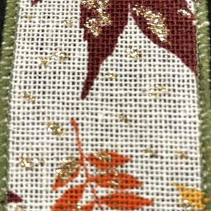 fall leaf ribbon