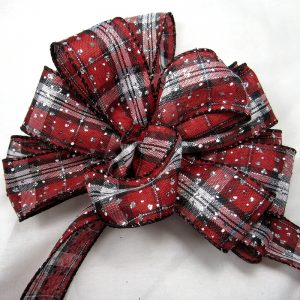 wired christmas plaid