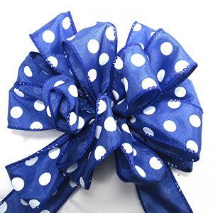 wired polka dot ribbon