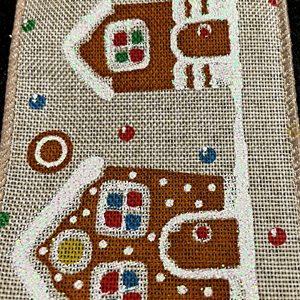gingerbread house ribbon