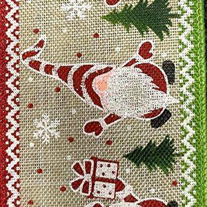 Christmas gnome ribbon