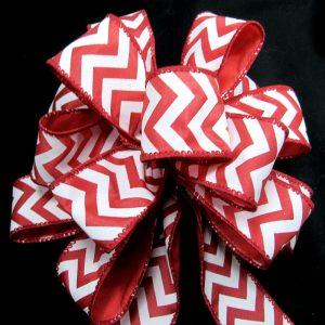 Zig-zag ribbon
