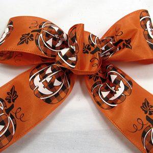 jack-o-lantern ribbon